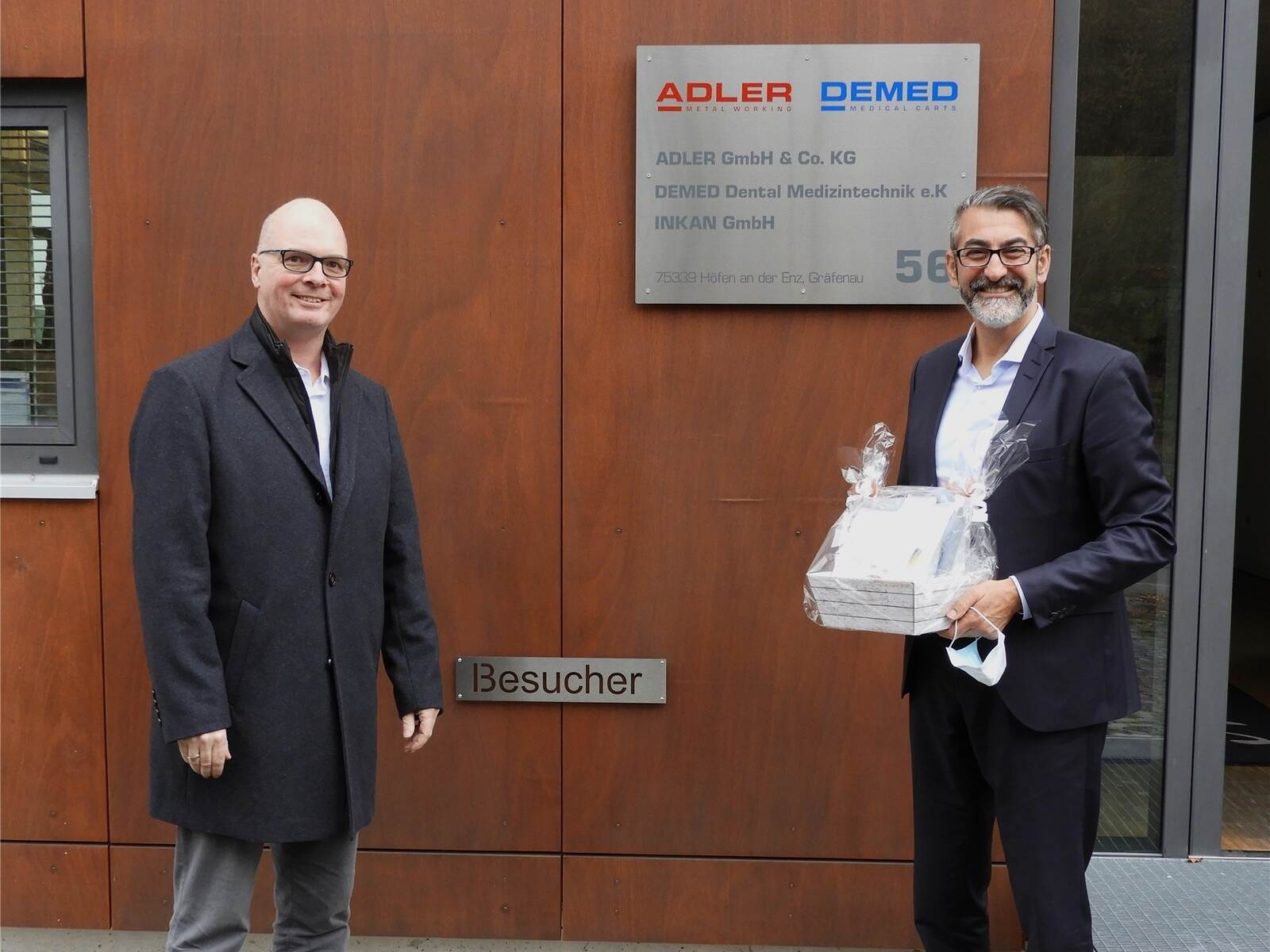 Presse PZ bei Adler-DEMED
